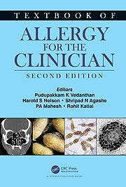 Portada del libro 9780367405526 Textbook of Allergy for the Clinician