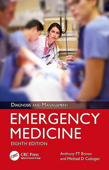 Portada del libro 9780367469900 Emergency Medicine. Diagnosis and Management