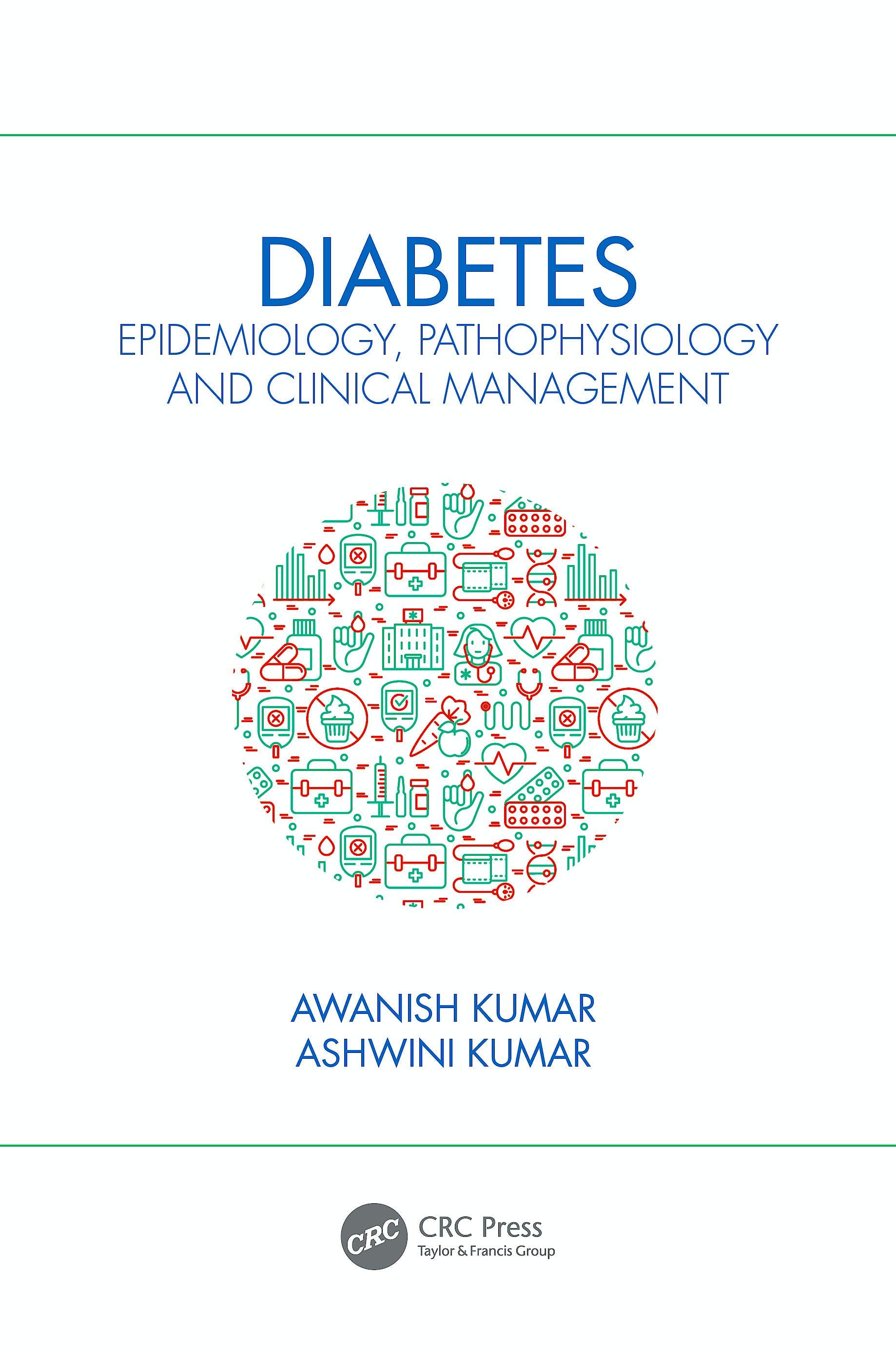 Portada del libro 9780367544577 Diabetes. Epidemiology, Pathophysiology and Clinical Management