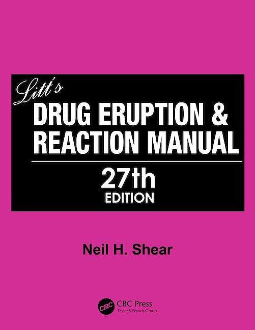 Portada del libro 9780367649531 Litt's Drug Eruption and Reaction Manual