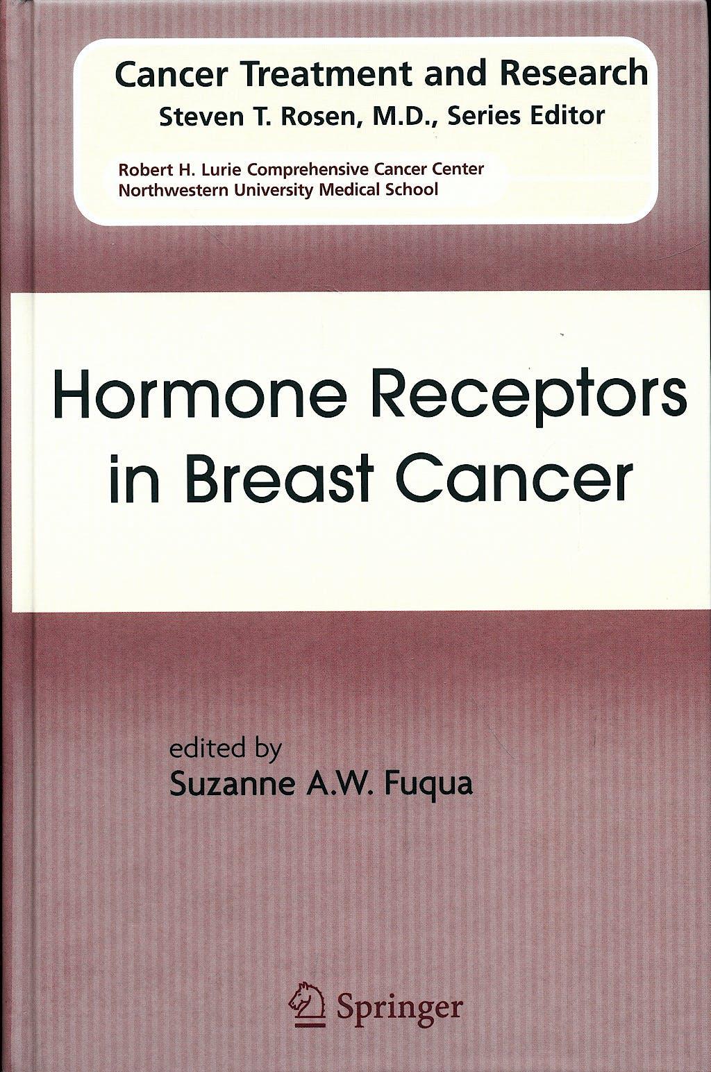 Portada del libro 9780387094625 Hormone Receptors in Breast Cancer