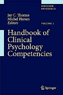 Portada del libro 9780387097565 Handbook of Clinical Psychology Competencies