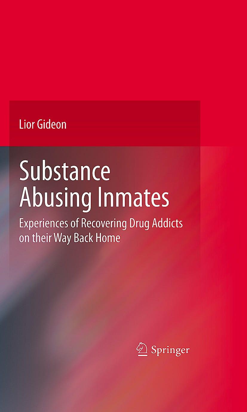 Portada del libro 9780387098050 Substance Abusing Inmates