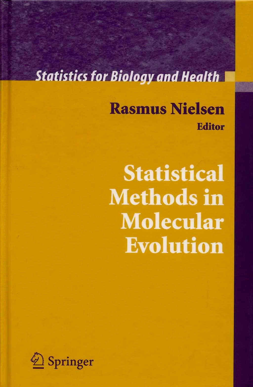 Portada del libro 9780387223339 Statistical Methods in Molecular Evolution