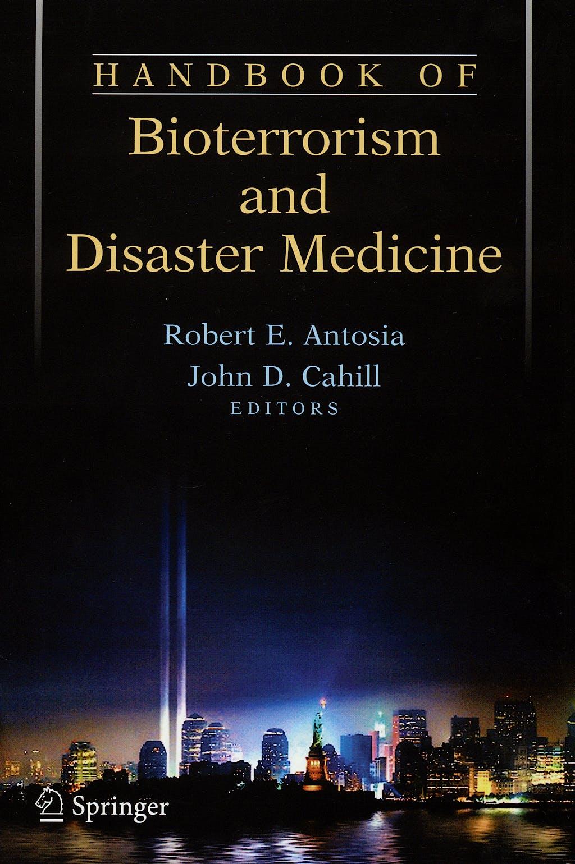Portada del libro 9780387243696 Handbook of Bioterrorism and Disaster Medicine