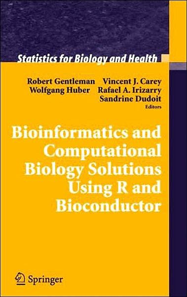 Portada del libro 9780387251462 Bioinformatics and Computational Biology Solutions Using R and Bioconductor (Statistics for Biology and Health)