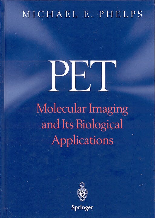 Portada del libro 9780387403595 PET. Molecular Imaging and Its Biological Applications