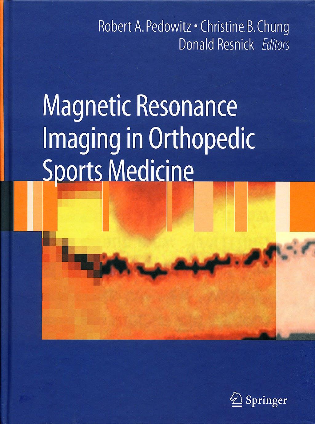 Portada del libro 9780387488974 Magnetic Resonance Imaging in Orthopedic Sports Medicine