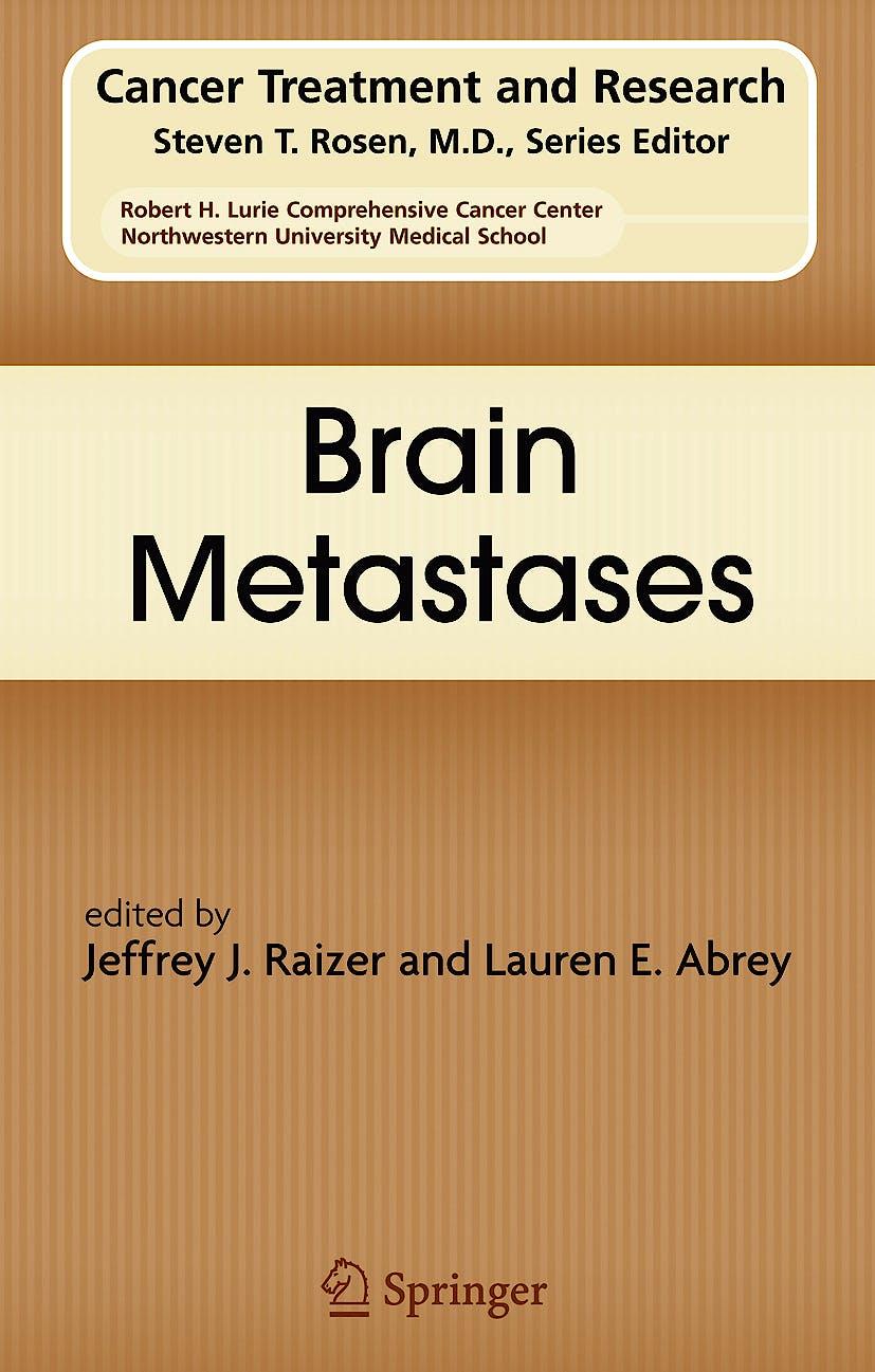 Portada del libro 9780387692210 Brain Metastases