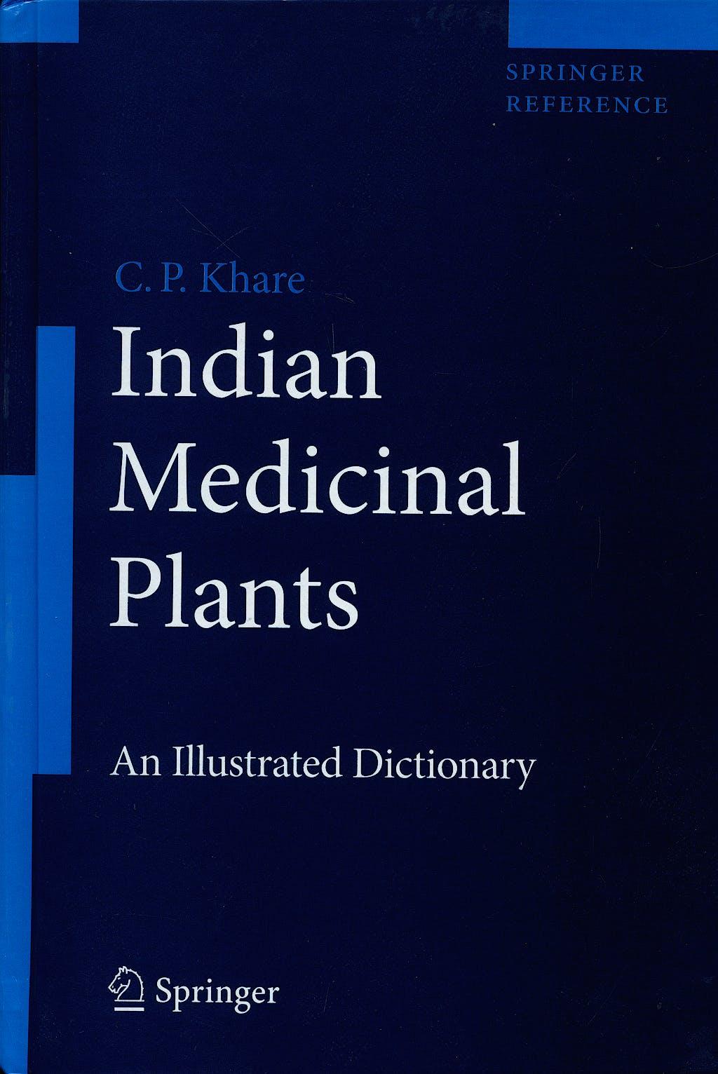 Portada del libro 9780387706375 Indian Medicinal Plants