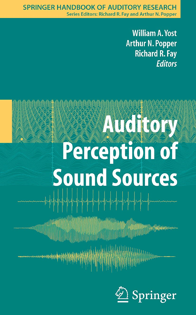 Portada del libro 9780387713045 Auditory Perception of Sound Sources
