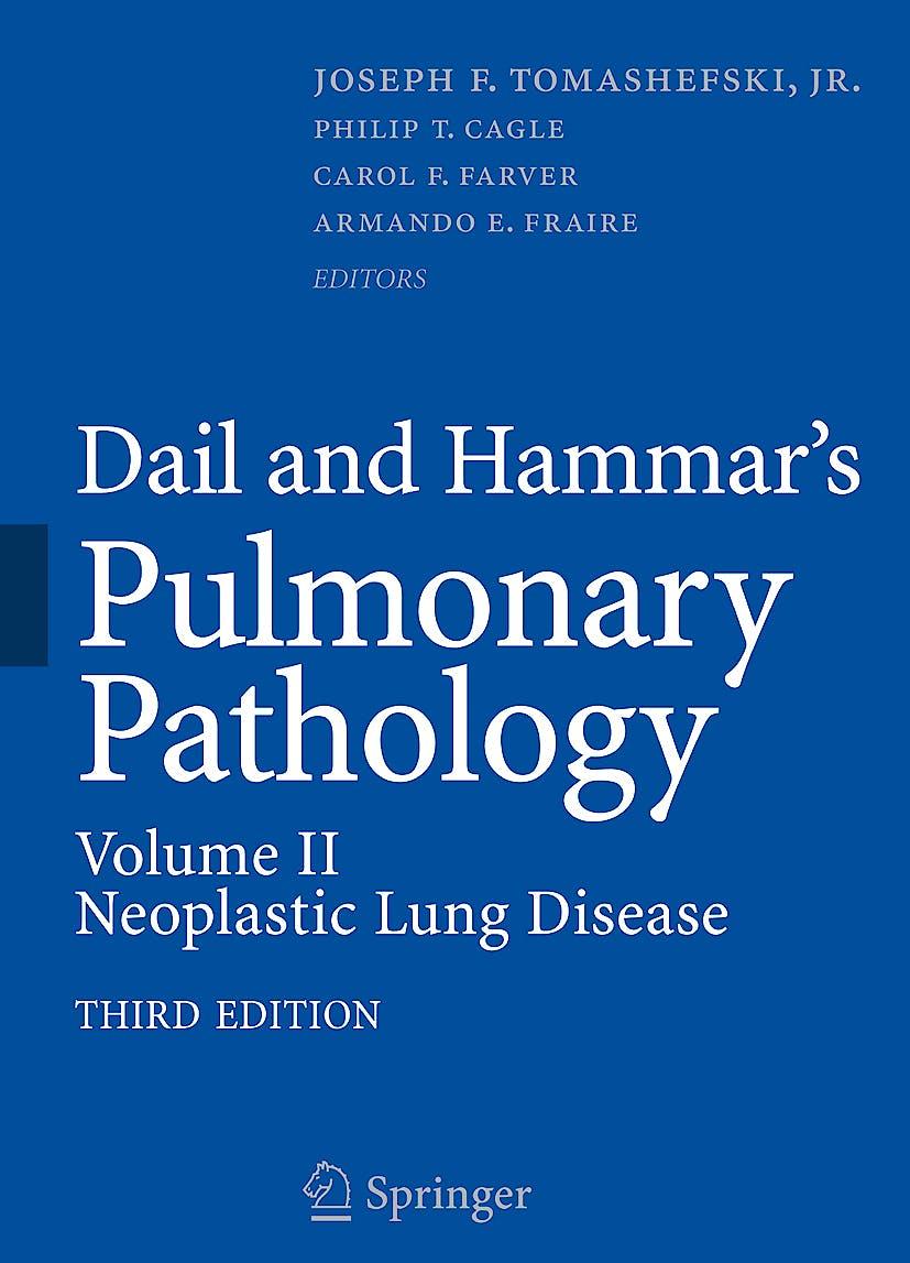 Portada del libro 9780387721132 Dail and Hammar's Pulmonary Pathology, Vol. Ii: Neoplastic Lung Disease