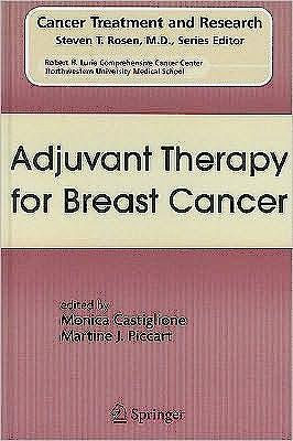 Portada del libro 9780387751146 Adjuvant Therapy for Breast Cancer