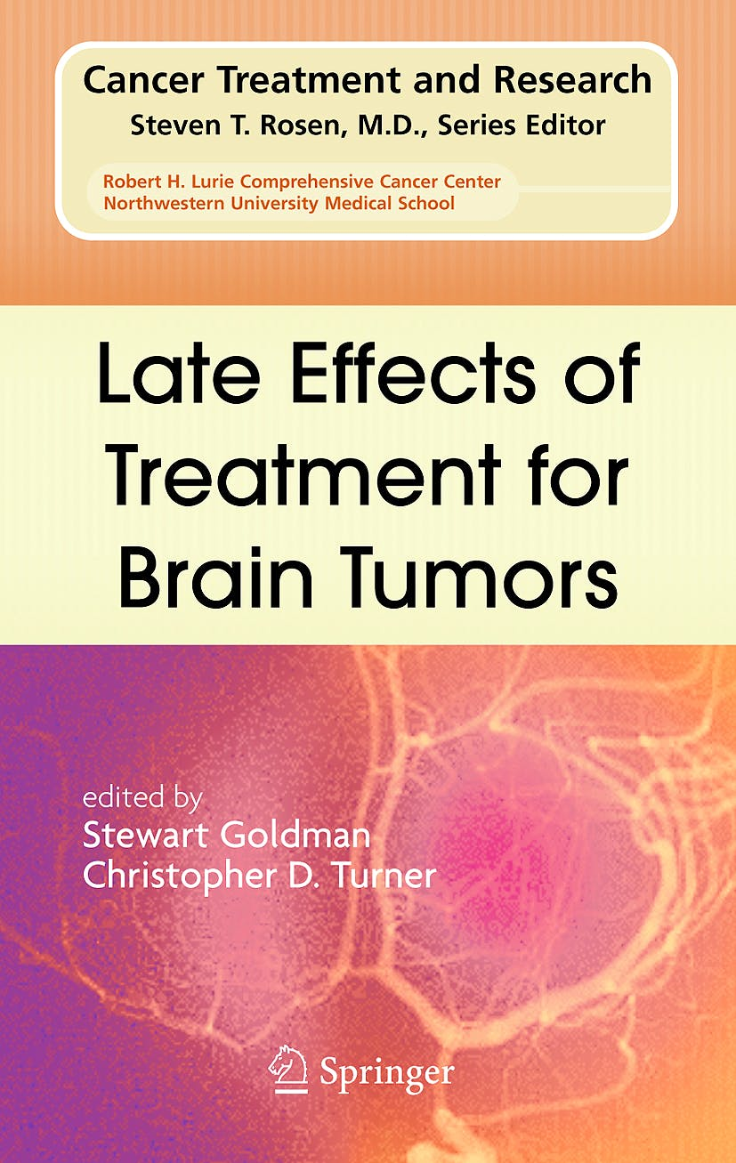 Portada del libro 9780387771021 Late Effects of Treatment for Brain Tumors