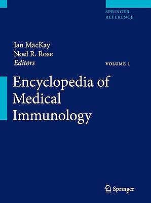 Portada del libro 9780387848273 Encyclopedia of Medical Immunology, Vol. 1: Autoimmune Diseases, 2 Vols.