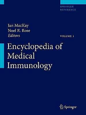 Portada del libro 9780387848297 Encyclopedia of Medical Immunology, Vol. 1: Autoimmune Diseases, 2 Vols. + Online Access
