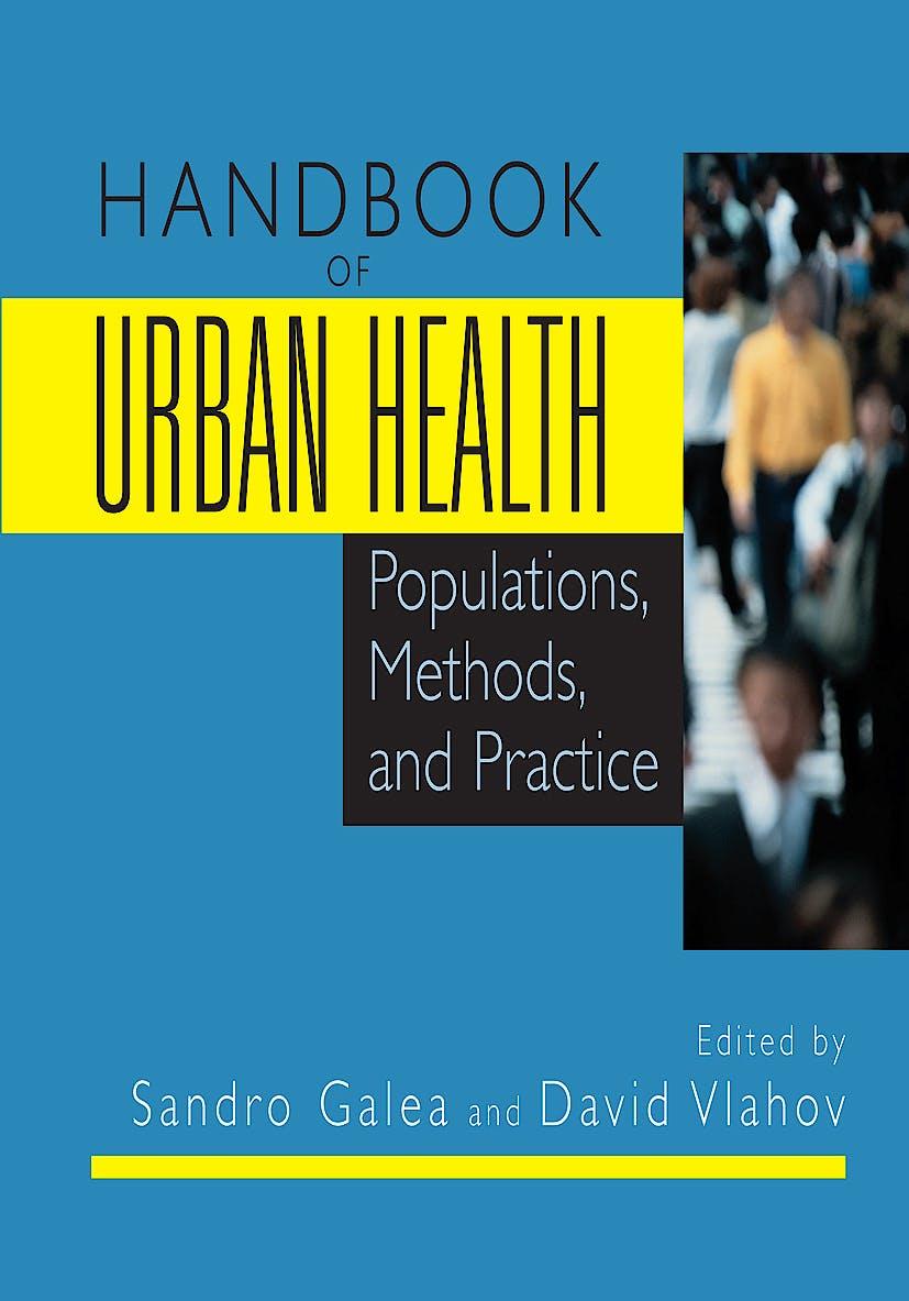 Portada del libro 9780387857701 Handbook of Urban Health