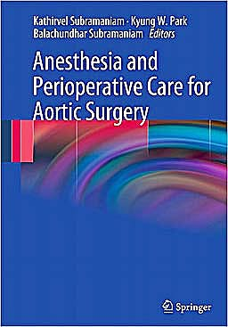 Portada del libro 9780387859217 Anesthesia and Perioperative Care for Aortic Surgery