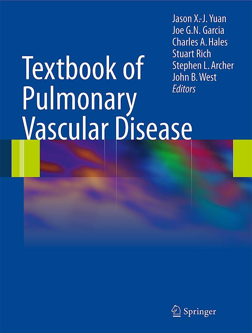 Portada del libro 9780387874289 Textbook of Pulmonary Vascular Disease