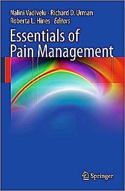 Portada del libro 9780387875781 Essentials of Pain Management