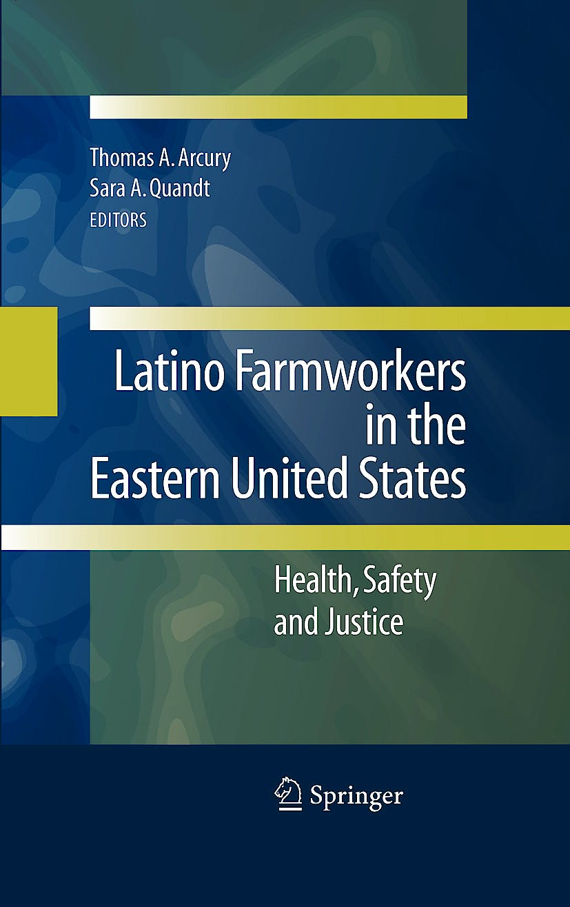 Portada del libro 9780387883465 Latino Farmworkers in the Eastern United States