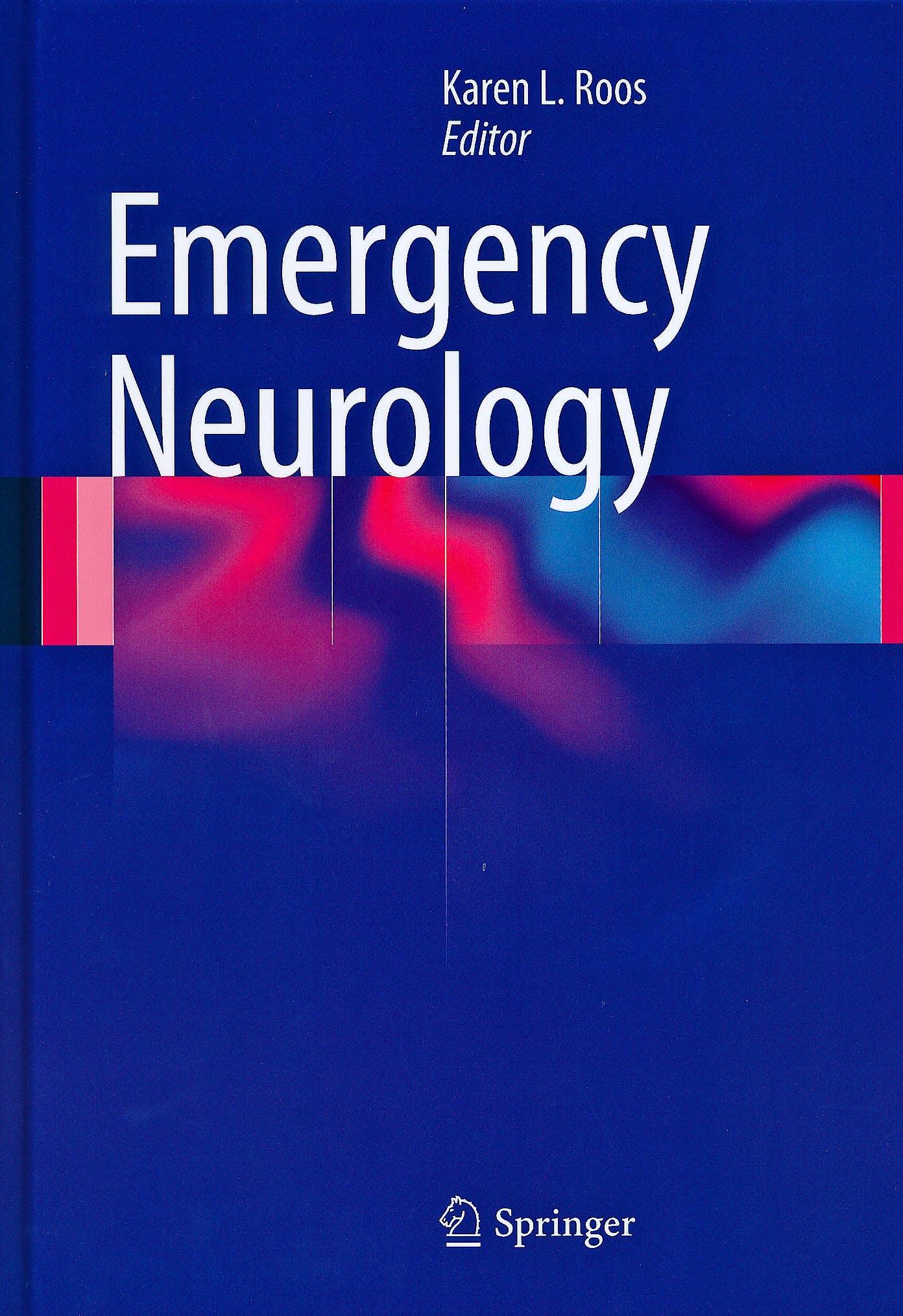 Portada del libro 9780387885841 Emergency Neurology