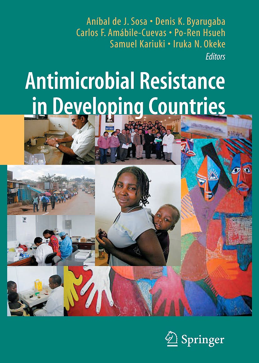 Portada del libro 9780387893693 Antimicrobial Resistance in Developing Countries