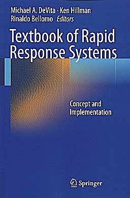 Portada del libro 9780387928524 Textbook of Rapid Response Systems. Concept and Implementation