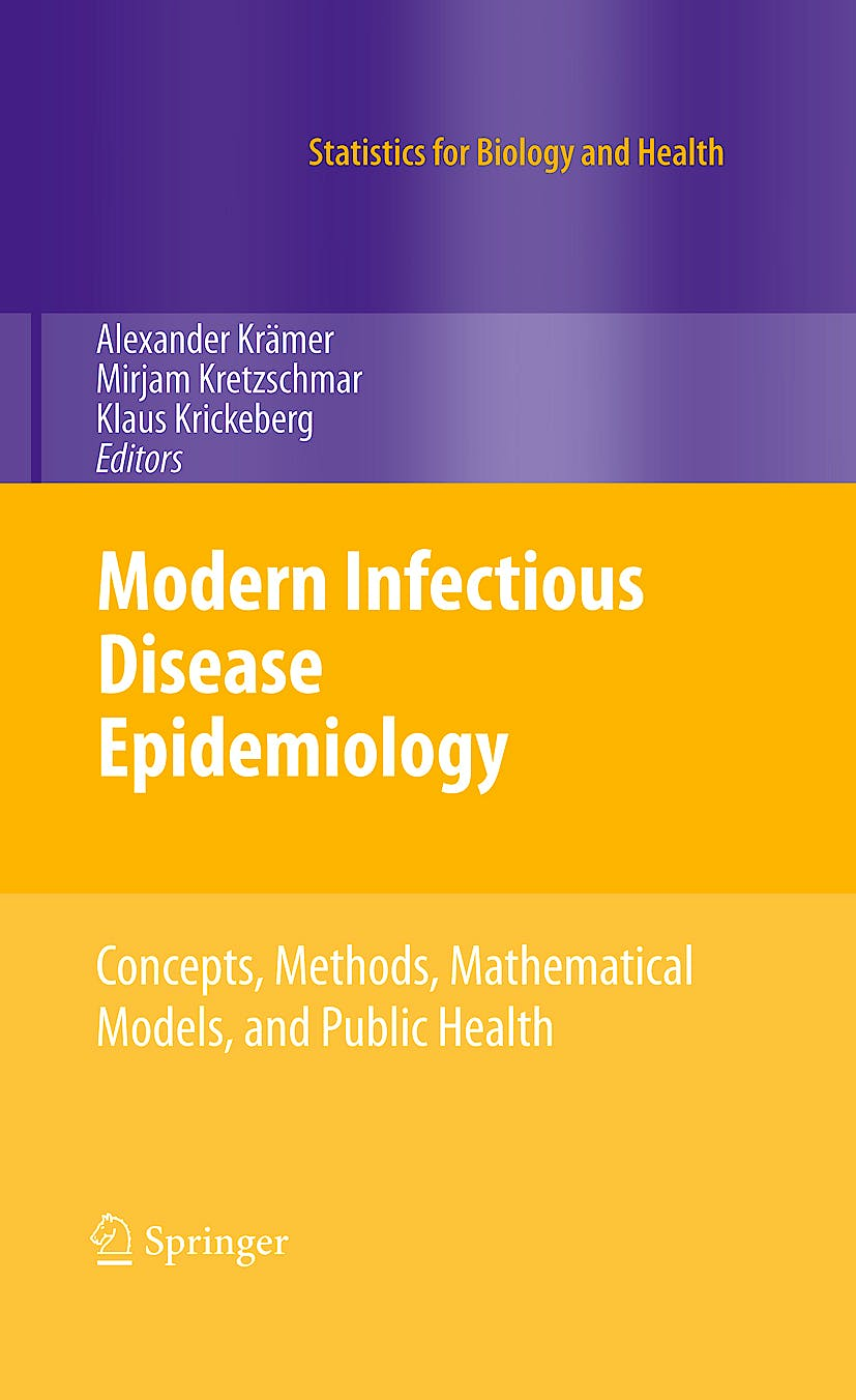 Portada del libro 9780387938349 Modern Infectious Disease Epidemiology