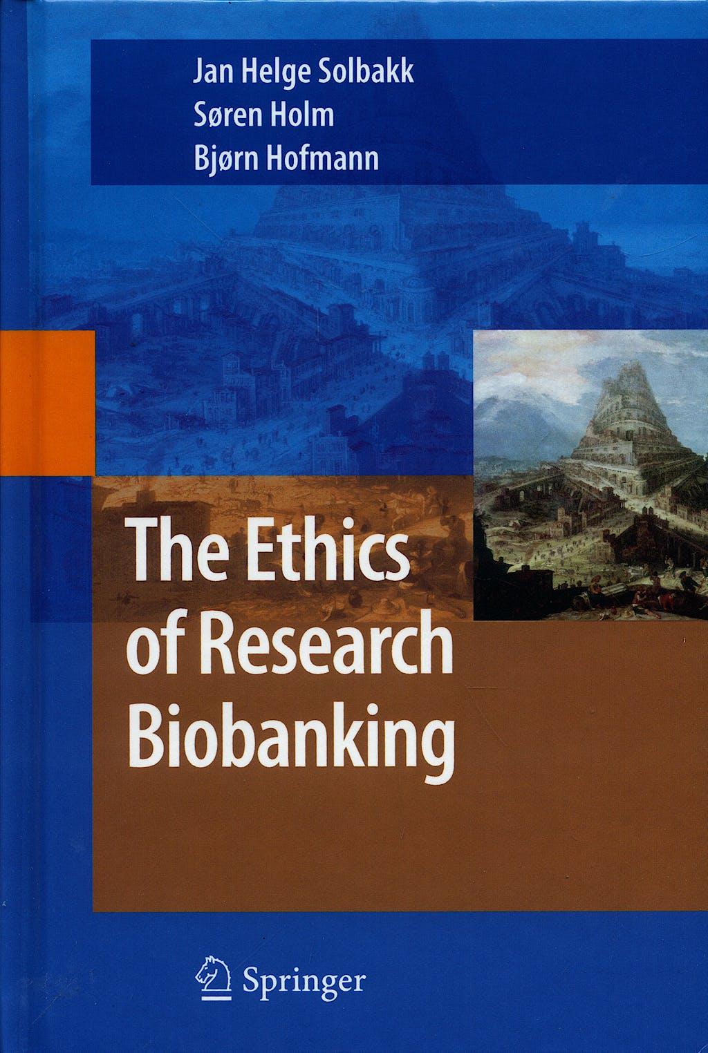 Portada del libro 9780387938714 The Ethics of Research Biobanking