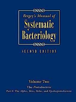 Portada del libro 9780387950402 Bergey's Manual of Systematic Bacteriology, Vol. 2