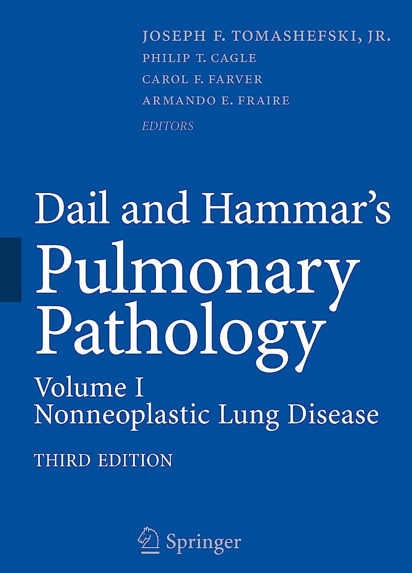 Portada del libro 9780387983950 Dail and Hammar's Pulmonary Pathology, Vol. I: Nonneoplastic Lung Disease (Hardcover)