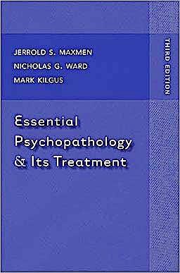 Portada del libro 9780393705607 Essential Psychopathology and Its Treatment