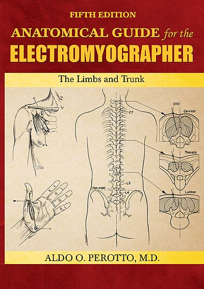 Portada del libro 9780398086480 Anatomical Guide for the Electromyographer. the Limbs and Trunk