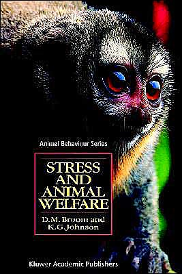 Portada del libro 9780412395802 Stress and Animal Welfare
