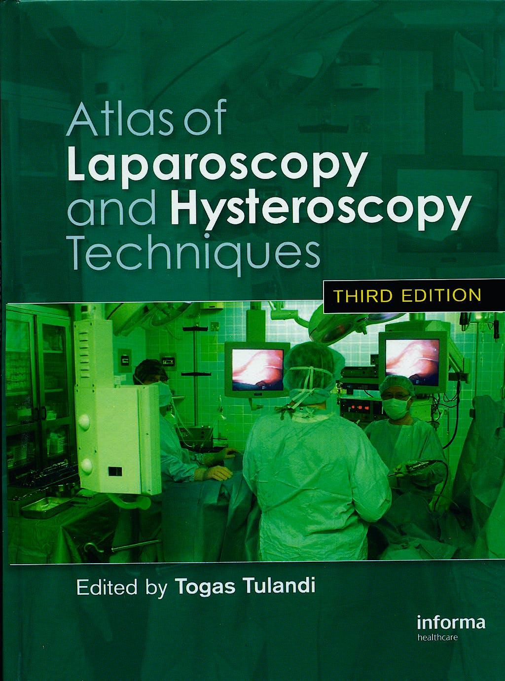 Portada del libro 9780415414401 Atlas of Laparoscopy and Hysteroscopy Techniques