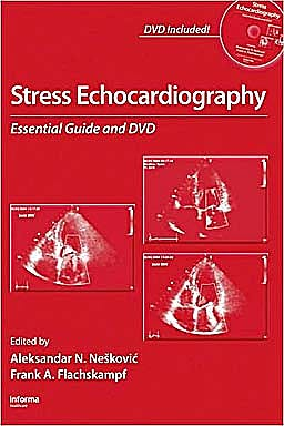 Portada del libro 9780415422246 Stress Echocardiography. Essential Guide and Dvd