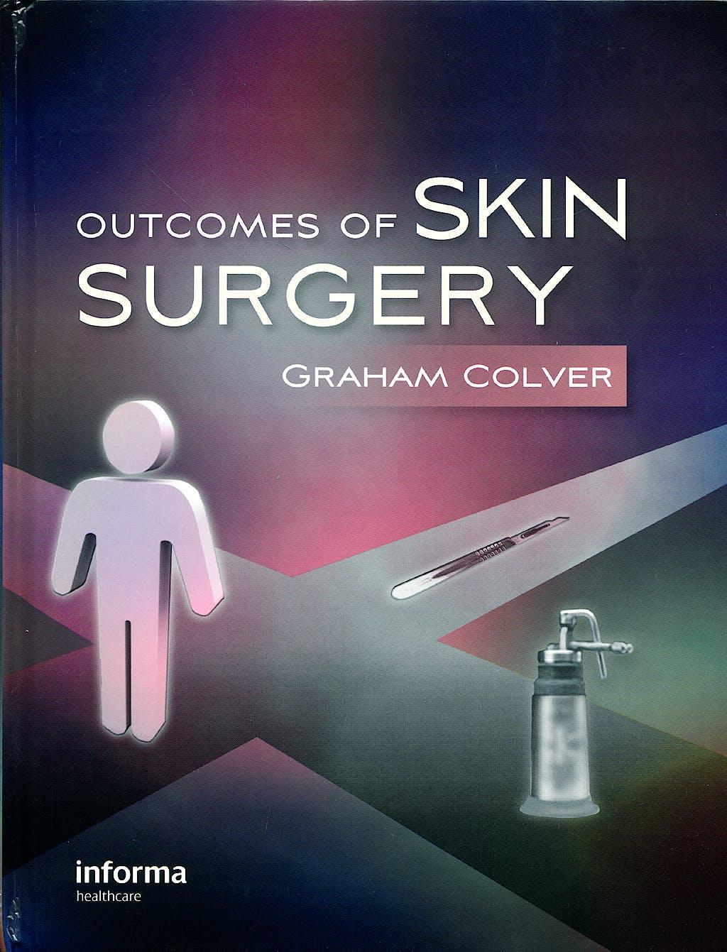 Portada del libro 9780415470384 Outcomes of Skin Surgery