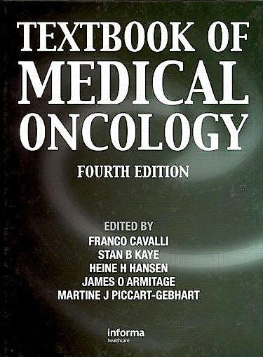 Portada del libro 9780415477482 Textbook of Medical Oncology