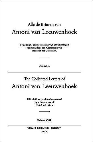 Portada del libro 9780415586429 The Collected Letters of Antoni Van Leeuwenhoek, Vol. 17