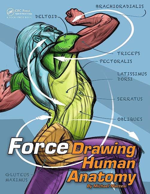 Portada del libro 9780415733977 Force. Drawing Human Anatomy