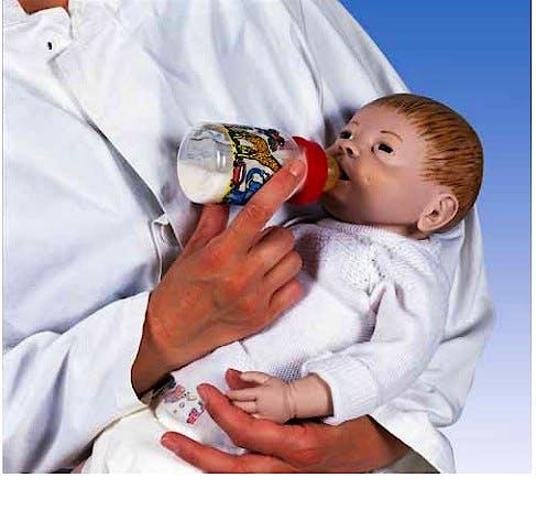 Modelo para Cuidados del Bebe, Masculino