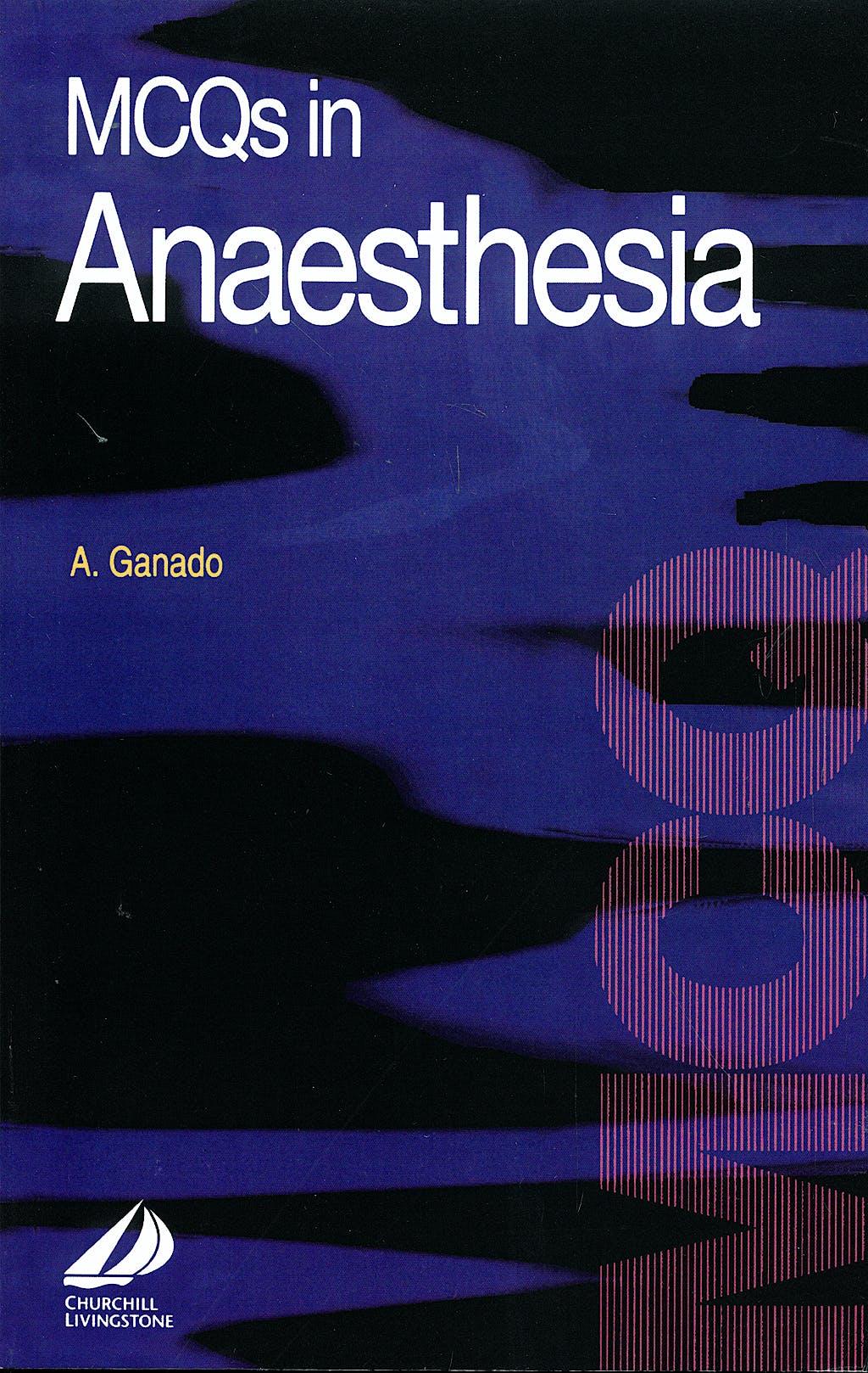 Portada del libro 9780443059155 MCQs Anaesthesia