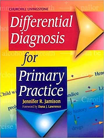 Portada del libro 9780443062643 Differential Diagnosis for Primary Practice
