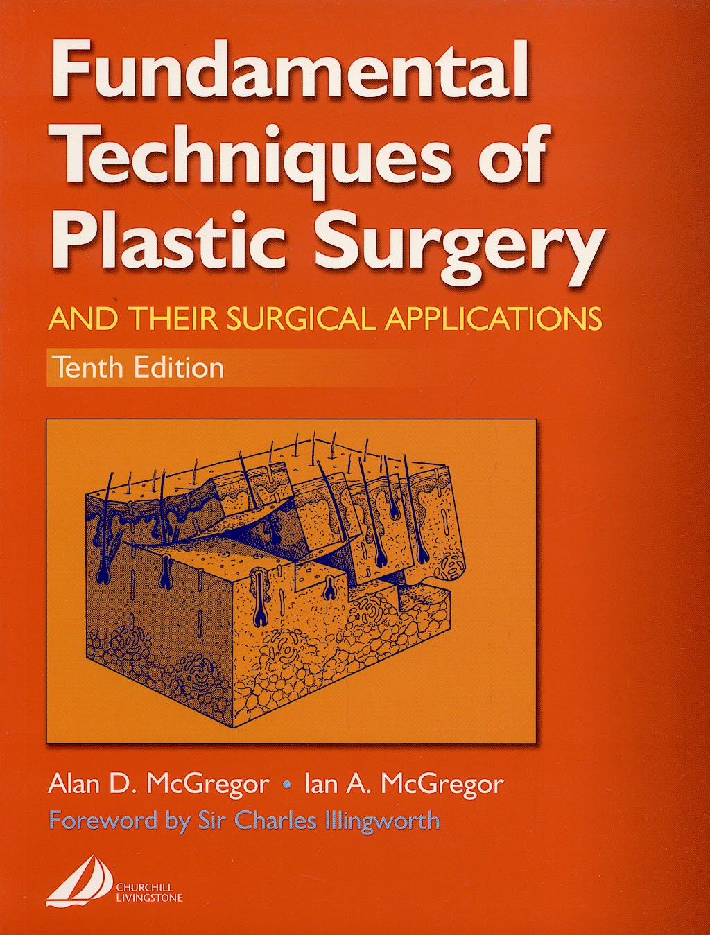 Portada del libro 9780443063725 Fundamental Techniques of Plastic Surgery. and Their Surgical Applications
