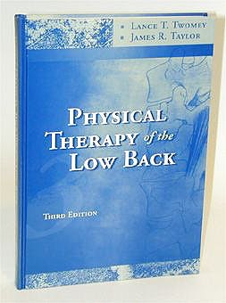Portada del libro 9780443065521 Physical Therapy of the Low Back