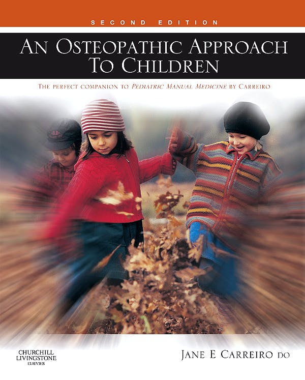 Portada del libro 9780443067389 An Osteopathic Approach to Children
