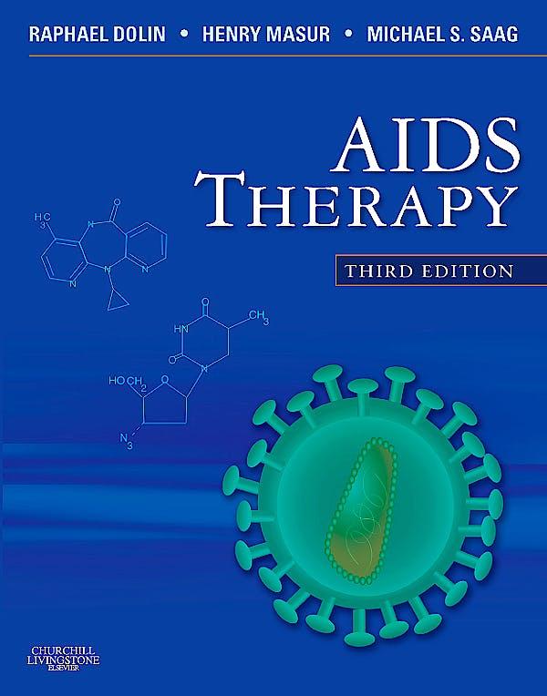 Portada del libro 9780443067525 Aids Therapy E-Dition