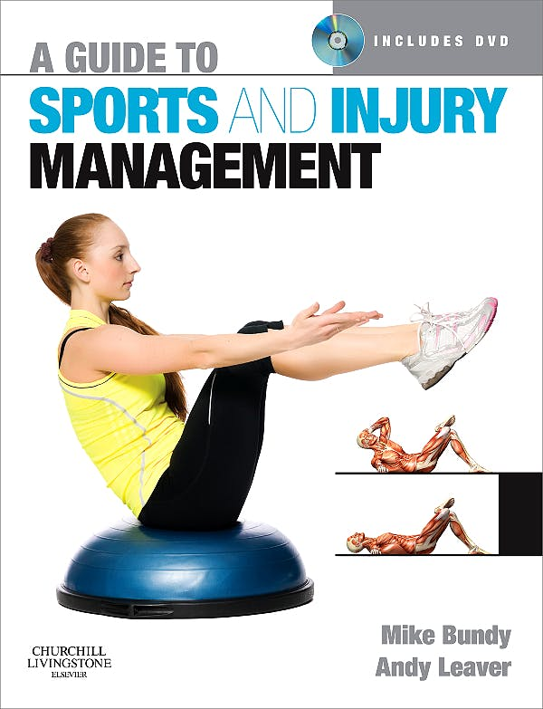 Portada del libro 9780443068133 A Guide to Sports and Injury Management + Dvd