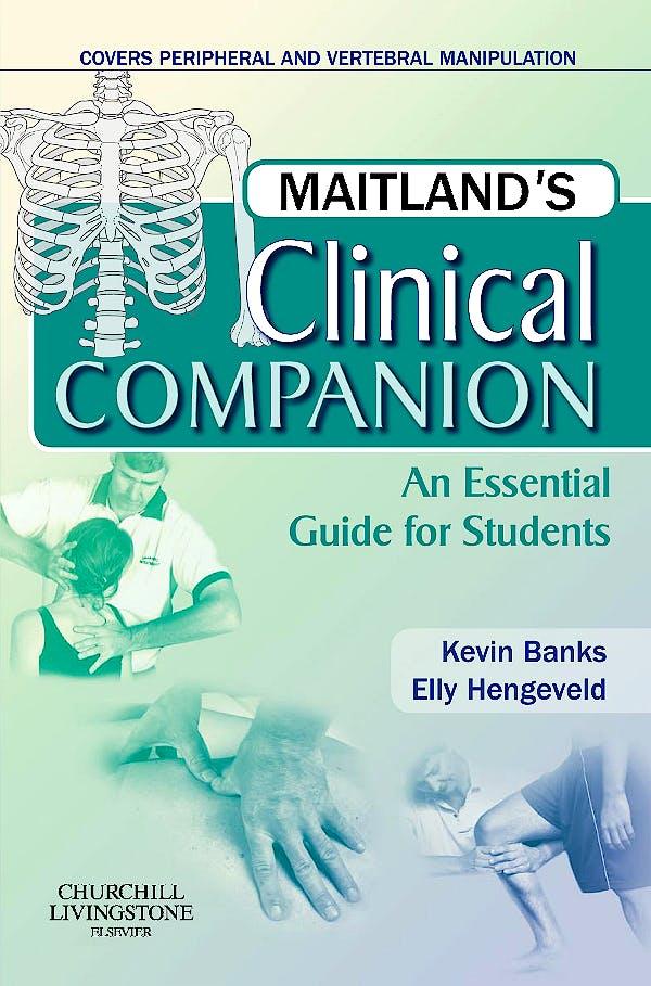 Portada del libro 9780443069338 Maitland's Clinical Companion. an Essential Guide for Students
